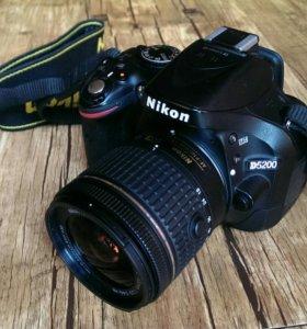 Nikon D5200 kit 18-55 vr2