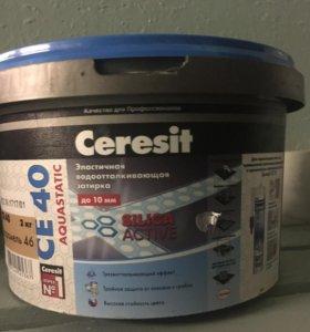 Затирка бежевая Ceresit для плитки