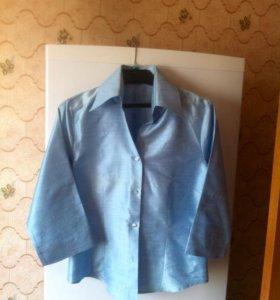 Блузка новая 44 Naracamiccie натуральный 100% шёлк
