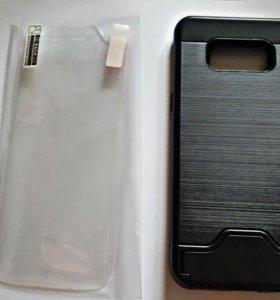 Чехол на Samsung Galaxy s8 + защитная пленка