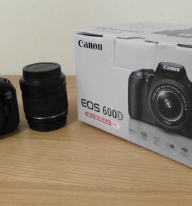 Canon EOS 600D EF-S Kit 18-55