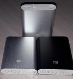 Внешний АКБ PowerBank Xiaomi 10400 mAh