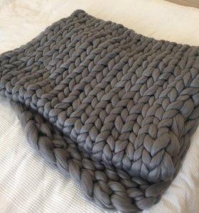 Плед из мериносовой шерсти