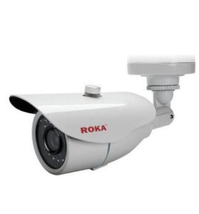 УЛИЧНАЯ AHD ВИДЕОКАМЕРА 1 MP ROKA R-3000W