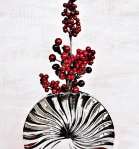Стильная керамическая ваза