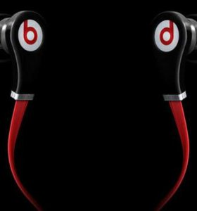 Наушники Monster Beats by dr. Dre Tour Red-Black