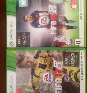 FIFA16+17(XBOX360)
