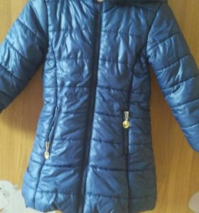 Пальто на девочку 2-3года