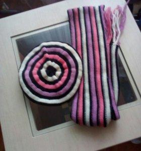 Берет + шарф