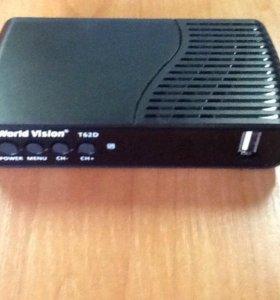 DVB- T/ T2/C Цифровой ТВ ресивер