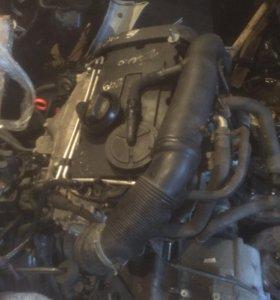 Двигатель Фольксваген Пассат BKP 2.0 140 л.с. Дизе