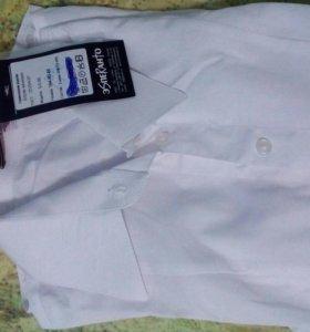 Белая новая рубашка