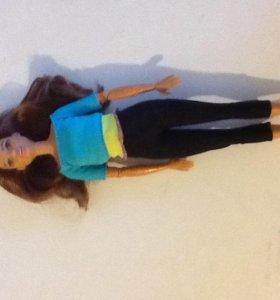 Кукла барби с очень подвижным телом: 22шарнира