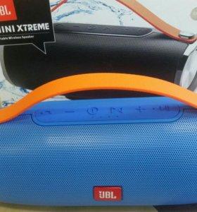 Колонка (Bluetooth)JBL mini Xtreme синяя