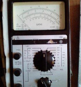 Комбинированный прибор ц4341 (тестер)
