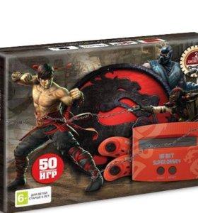 Игровая приставка Sega Mortal Kombat 50 игр новая