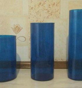 Набор ваз 3 шт