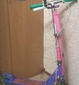 Детский самокат с ручным тормозом play 5 oxelo