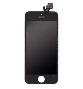 Тачскрин айфон 5 black