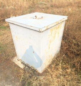 Металлический контейнер (бак) для мусора