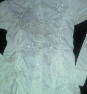Блузка на 7-9 лет