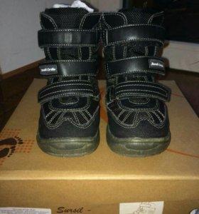 Детские зимние ботинки ортопедические