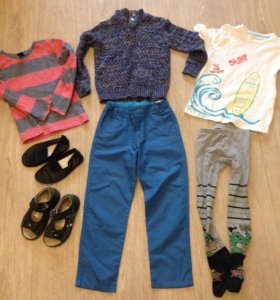 Пакет одежды и обуви рост-110-116