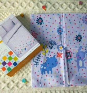 Комплект постельного белья в детскую кроватку