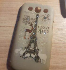 Чехол для Samsung Galaxy S3 (Франция)