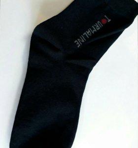 Лечебные турмалиновые носки.