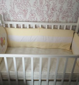 Кроватка-маятник+матрас