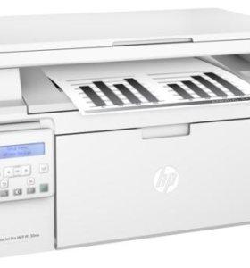 МФУ HP LJ Pro M130NW /лаз.ч-б/A4/USB+LAN+WiFi