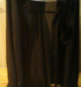Новая женская рубашка шифон из магазинаNewYorker