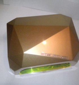 36 Вт UV LED лампа для ногтей (золотой цвет)