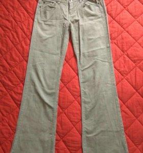 Вельветовые джинсы, б/у. 42-44
