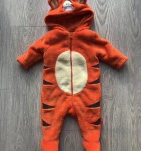 Детский костюм Тигры Disney Mathercare 0-3м