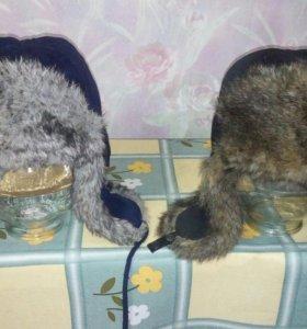 Шапки зимние 1шт.500р