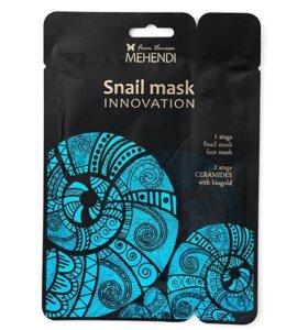 Коллагеновая маска для лица с муцином улитки