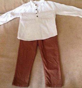 Рубашка Zara и брюки