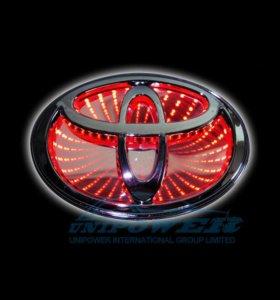 Логотип Toyota светодиодный
