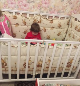 Детская кровать до 3 лет