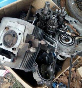 Разборка двигателя 250куб