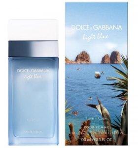 "Dolce and Gabbana ""Light Blue Love in Capri"","