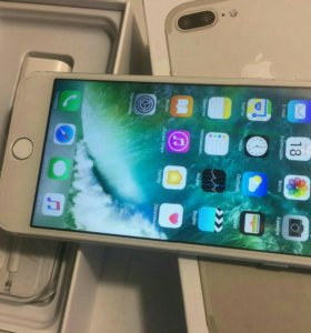 Apple iPhone 7 plus touch silver