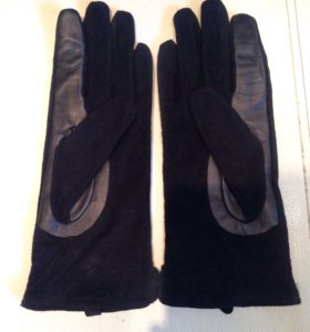 Замшевые перчатки Новые