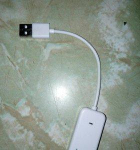 Внешняя звуковая USB карта
