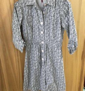 Платье летнее 44-46 б/у