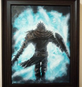 """Картина маслом """"Dark Souls"""""""