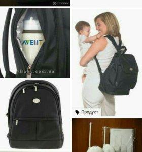 Сумка-рюкзак Avent.