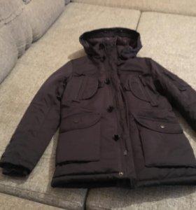 Куртка зимняя подростковая 44 раз.